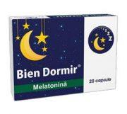 Bien Dormir Melatonina 20cps Fiterman