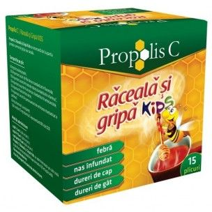 Propolis Raceala Gripa Kids 15dz Fiterman