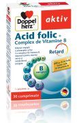 Acid Folic Complex Vitamina B 30cpr Doppel Herz