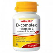 B Complex + Vitamina C 30tablete Walmark
