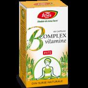 B Complex Vitamine Naturale 60Cps Fares