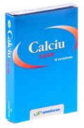 Calciu Lactat 630mg 40cpr Amniocen