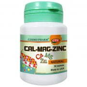 Calciu Magneziu Zinc 30tb Cosmopharm