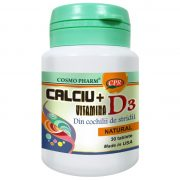 Calciu Vitamina D3 30tb Cosmopharm