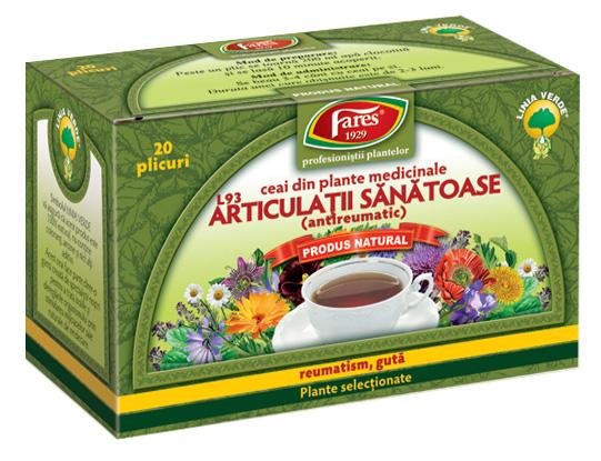 Alevia - Ceai pentru articulații