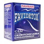 Ceai Favidetox 50gr Favisan