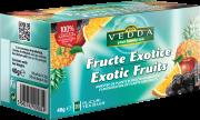 Ceai Fructe Exotice 20dz Vedda