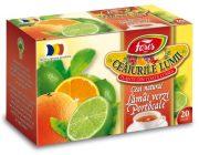Ceai Lamaie Verde si Portocale 20dz Fares