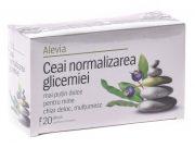 Ceai Normalizarea Glicemiei 20dz Alevia