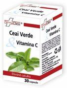 Ceai Verde cu Vitamina C 30cps Farmaclass