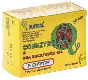 Coenzima Q10 in Ulei de Catina Forte 30mg 40cps Hofigal