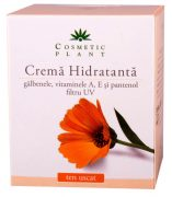 Crema hidratant galbenele si pantenol 50ml Cosmetic plant