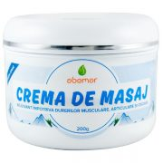 Crema Masaj pentru Dureri Musculare, Articulare si Osoase 200Gr Abemar Med
