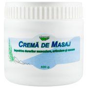 Crema Masaj pentru Dureri Musculare, Articulare si Osoase 500Gr Abemar Med