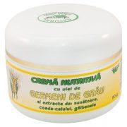 Crema Nutritiva Cu Germeni Grau 50Gr Abemar Med
