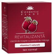 Crema Revitalizanta de Noapte cu Extract de Macese 50ml Cosmetic Plant