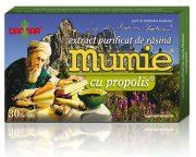 Extract purificat rasina Mumie cu Propolis 30tb Damar