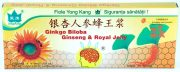 Fiolecu Ginko Biloba + Ginseng + Royal Jelly 1000mg+200mg+300mg 10fiole x10ml Co&Co