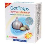 Garlicaps caps cu extract de usturoi 30cps Quantum Pharm