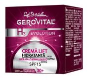 Crema lift hidratant de zi cu SPF15 50ml Gerovital H3 Evolution Farmec