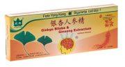 Fiole Ginkgo Biloba + Ginseng 10fi*10ml Yong Kang