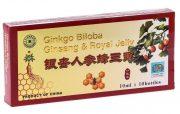 Fiole cu Ginkgo Biloba, Ginseng si Royal Jelly 10fiole x10ml L&L