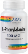 L-Phenylalanine 500Mg 60Cps Secom