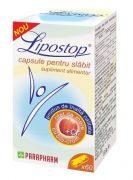 Lipostop capsule pentru slabit 60cps Quantum Pharm