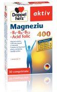 Magneziu 400mg B1+B6+B12+Acid Folic 30cpr Doppel Herz
