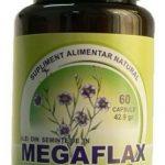 Megaflax - ulei seminte de in 500mg 30cps Herbavita