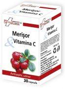 Merisor si Vitamina C 30cps Farma Class