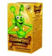 Minimartieni Imunoactiv cu Aroma de Portocale 50cpr Walmark
