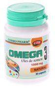 Omega 3 Ulei de Somon 30cps 1000mg Cosmopharm