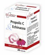Propolis C si Echinacea 30cps Farma Class