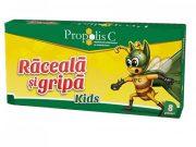 Propolis C Raceala si Gripa Kids 8dz Fiterman