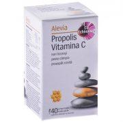 Propolis Vitamina C 40cpr Alevia