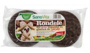 Rondele de Grau Expandat cu Glazura de Cacao 75g Sanovita