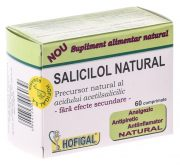 Salicilol Natural (Aspirina Naturala) 60tablete Hofigal