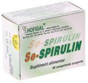 Se-Spirulin 40tablete Hofigal