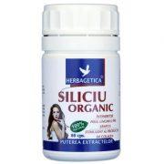 Siliciu organic 60cps Herbagetica