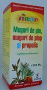 Sirop Muguri pin, cu Muguri de plop si propolis 200ml Pontica