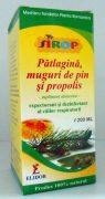 Sirop de patlagina, muguri de pin si propolis 200ml Pontica