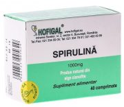 Spirulina 1000mg 40tablete Hofigal