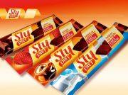 Tableta (ciocolata) capsuni 25gr Sly