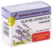 Ulei de Levantica 40cps(Moi) Hofigal