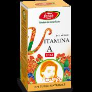 Vitamina A Naturala 30Cps Fares