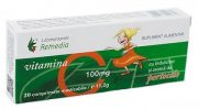 Vitamina C 100mg (Portocale) pentru Copii 20cpr Remedia