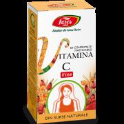 Vitamina C Naturala 60Cpr Fares