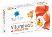 Vitamina C Propolis Pur 30cpr Helcor