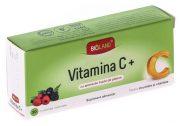 Vitamina C aroma fructe de padure 20cpr Biofarm